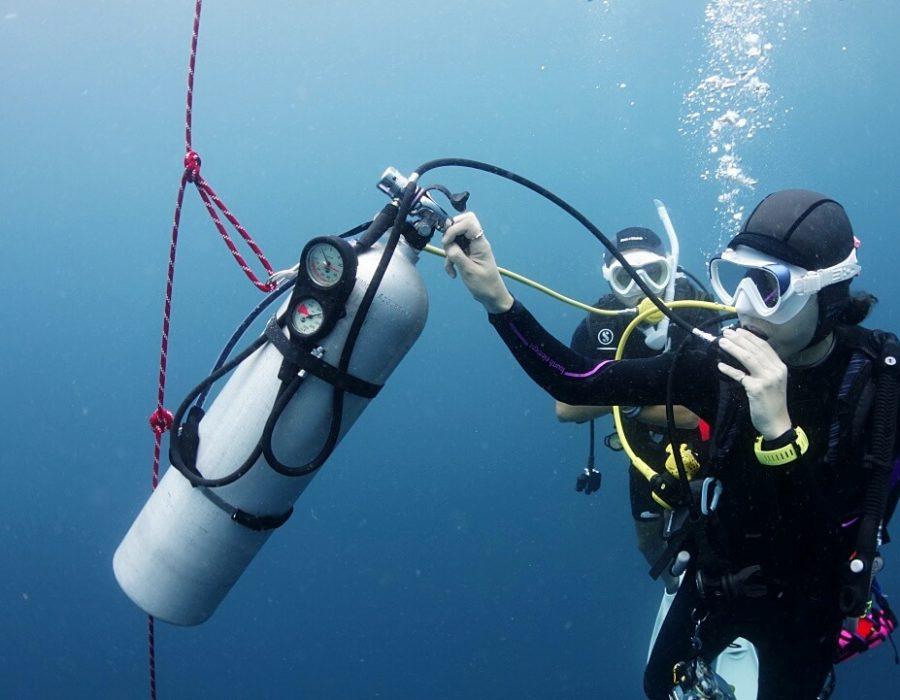 deep diving scenario